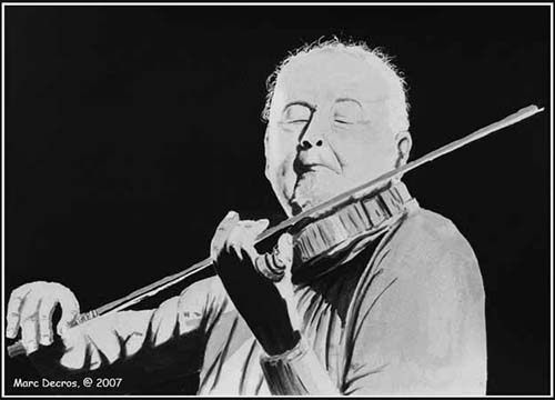 Stéphane Grappelli by marco